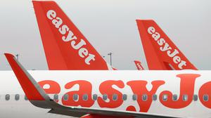 EasyJet has warned that some airlines may not survive the coronavirus outbreak (Gareth Fuller/PA)