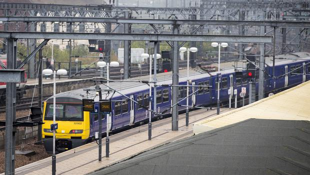 Hundreds of train services have been cancelled since a new timetable was introduced (Danny Lawson/PA)