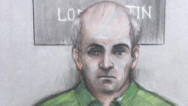 Court artist sketch by Elizabeth Cook of Joseph Isaacs (Elizabeth Cook/PA)