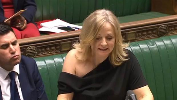 Tracy Brabin faced criticism over the off-the-shoulder dress (PA)