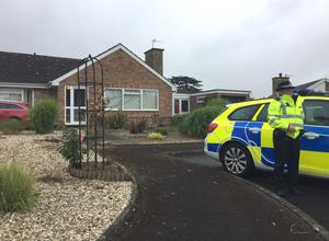 Police were at the current home of Mr Venables on Tuesday (Richard Vernalls/PA)