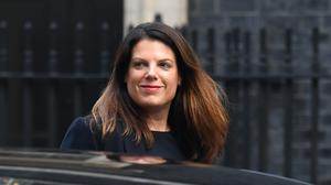 Caroline Nokes asked about female representation as the Prime Minister appeared before the Liaison Committee (Stefan Rousseau/PA)