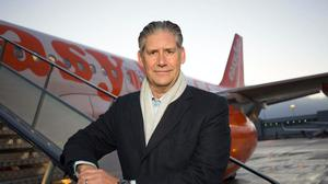 EasyJet's boss has insisted he would 'feel 100% safe' on packed planes as the airline restarts operations for the first time in 11 weeks (EasyJet/PA)