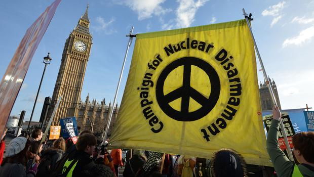 Campaign for Nuclear Disarmament said the group's inclusion on the list is 'massive state overreach' (PA)