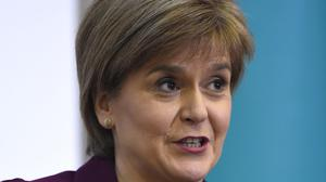 First Minister Nicola Sturgeon said the SNP will work constructively at Westminster