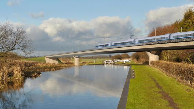 China is in talks with the UK over building the HS2 rail link (HS2/PA)