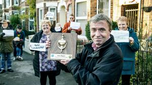 Shaun Blagdon of Ella Street, Hull, who has been named Co-op Neighbour of the Year (Sean Spencer/Co-op/PA)