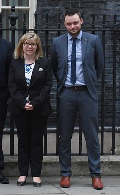 Conservative vice-chairs Ben Bradley and Maria Caulfield left their roles (Stefan Rousseau/PA)