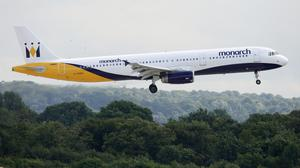 """Monarch's chief executive has said he is """"so sorry"""" for the inconvenience caused to customers (Dave Thompson/PA)"""