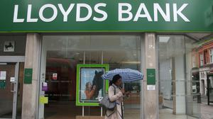 Lloyds Banking Group said that, from Thursday it will increase its interest-free buffer to a maximum of £500 on all agreed overdrafts for three months (Yui Mok/PA)