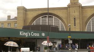The Great Northern service from King's Cross to Huntingdon was held up for 18 minutes