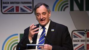 National Farmers' Union President Meurig Raymond said they had been let down time and time again
