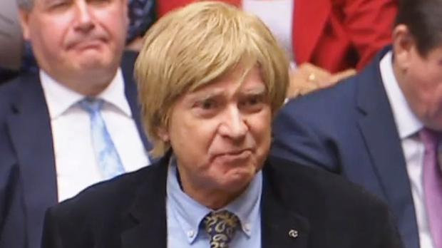 WATCH: Tory MP Michael Fabricant shows his naked ambition