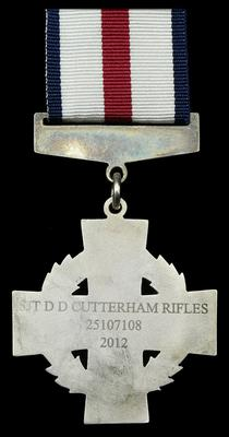 Mr Cutterham's collection of medals, including the Conspicuous Gallantry Cross, could sell for up to £120,000 at auction (Credit Dix Noonan Webb/PA)