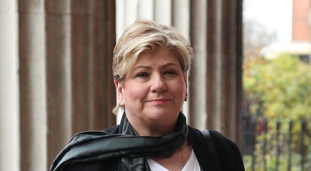 Emily Thornberry secured 23 nominations to make it through to the last stage of the contest (Yui Mok/PA)