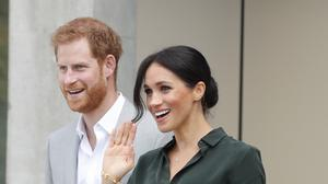 Harry and Meghan are expecting a baby (Heathcliff O'Malley/The Daily Telegraph/PA)