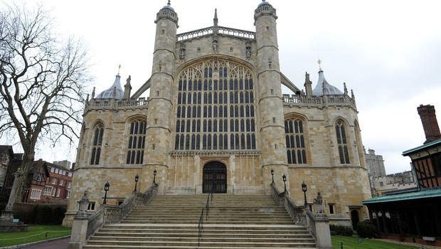 The couple will marry at St George's chapel at Windsor Castle (Andrew Matthews/PA)