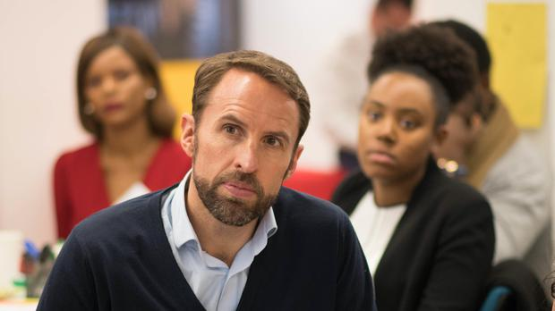 England manager Gareth Southgate at the Prince's Trust event (Stefan Rousseau/PA)