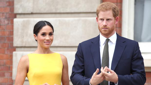 Harry and Meghan's bombshell statement said they wanted to quit as senior royals (Yui Mok/PA)