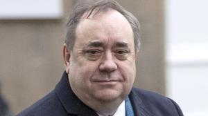 Alex Salmond arriving at the High Court in Edinburgh on Tuesday (Jane Barlow/PA)