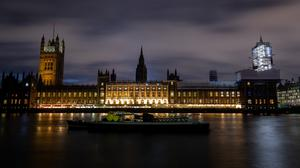 The Houses of Parliament at dusk (Aaron Chown/PA Wire)
