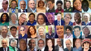 Composite photos of some of the NHS and health care workers who have died during the coronavirus pandemic (PA)