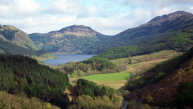 The island sits in Loch Lomond, a protected national park (Heritage Lottery Fund/PA)