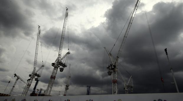 Decline in the UK construction sector accelerated in December, according to new figures (Chris Radburn/PA)