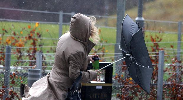 High winds are sweeping parts of Scotland (Andrew Milligan/PA)