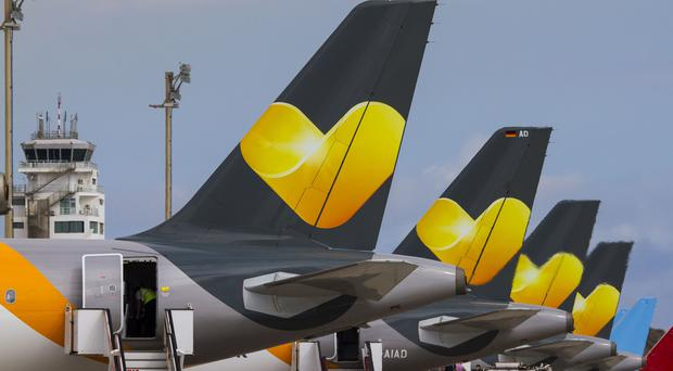Planes from Thomas Cook Airlines (Thomas Cook/PA)