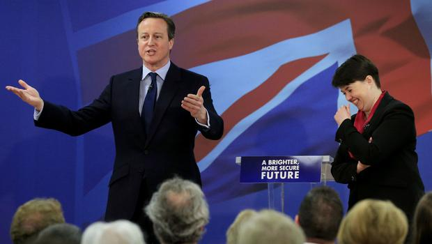 David Cameron has written about his time in office (Jonathan Brady/PA)