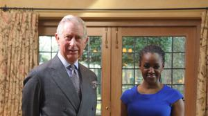 The Prince of Wales was interviewed by Diane-Louise Jordan (Andy Hutchinson/BBC/PA)