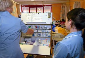 The number of job postings for health professionals, pharmacists and nurses all increased, but there was also rising demand for workers such as security guards, said REC. (David Jones/PA)