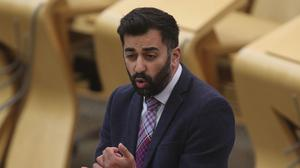 Justice Secretary Humza Yousaf accused Donald Trump of 'inciting a violent mob' (Fraser Bremner/Scottish Daily Mail/PA)