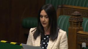 SNP MP Margaret Ferrier has been suspended (Parliament TV/PA)