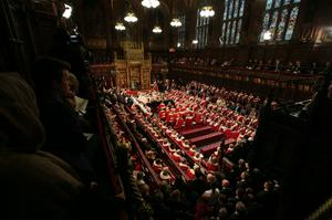 The House of Lords will sit virtually on Tuesday. (Aaron Chown/PA)