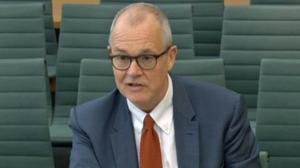 Sir Patrick Vallance has been giving evidence to MPs (House of Commons/PA)