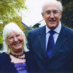 Maureen Greaves with her husband Alan, who died after being attacked on his way to midnight mass on Christmas Eve (South Yorkshire Police/PA)