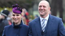 Zara Tindall and Mike Tindall returned from the virus-hit region of northern Italy last week (Joe Giddens/PA)