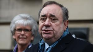 Alex Salmond is due to give evidence to the Holyrood inquiry into the Scottish Government's unlawful investigation of sexual harassment claims (Andrew Milligan/PA)