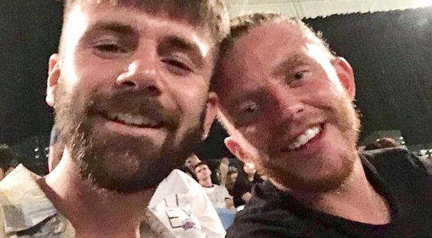 Danny Maggs and Alistair Raddon (GoFundMe/PA)
