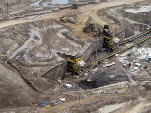 Oil sands are significantly more polluting than other forms of oil extraction (Emily Beament/PA)