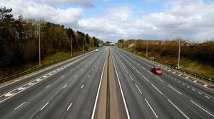 Coronavirus restrictions in the UK including curbs on travel helped drive down carbon emissions (Tim Goode/PA)