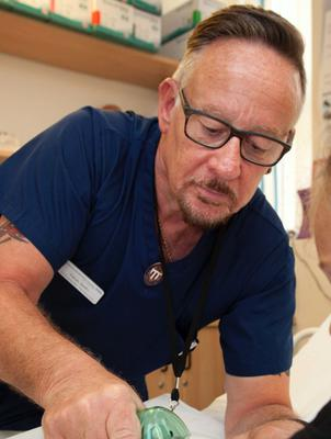 Plaster technician Kevin Smith who died after contracting Covid-19 (Doncaster and Bassetlaw Teaching Hospitals NHS Trust/PA)