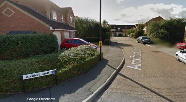 The fatal stabbings took place in Archford Croft, Milton Keynes (Google StreetView/PA)