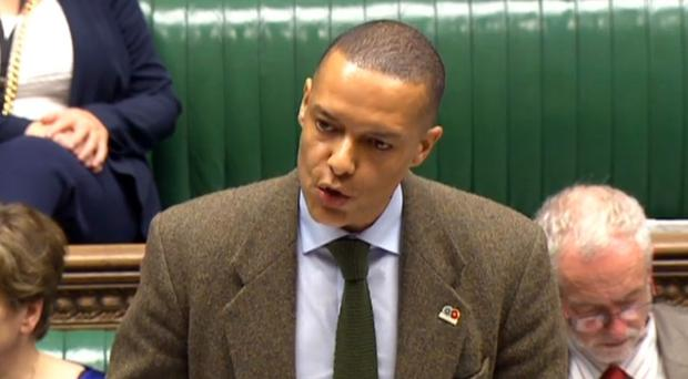 Clive Lewis is hanging on in the race to succeed Jeremy Corbyn as Labour leader (PA/Commons)