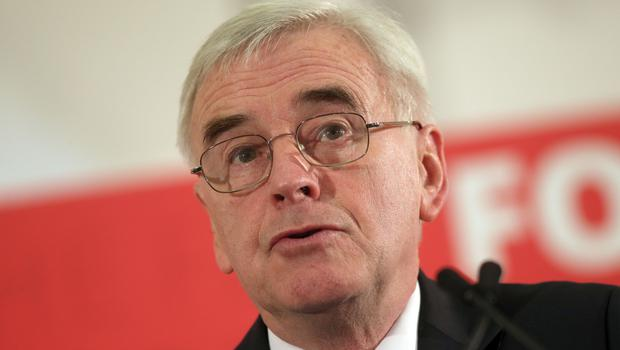 John McDonnell said anti-Semitism had hit Labour's election hopes (Steve Parsons/PA)
