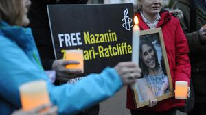 The news of British Embassy staff in Tehran being brought home follows suspicions that detained Nazanin Zaghari-Ratcliffe has contracted coronavirus in an Iran prison (Kirsty O'Connor/PA)