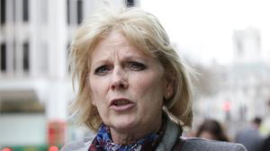 Tory MP Anna Soubry who has accused the Metropolitan Police of ignoring abuse, including racism, hurled at politicians and journalists outside Parliament (Yui Mok/PA)