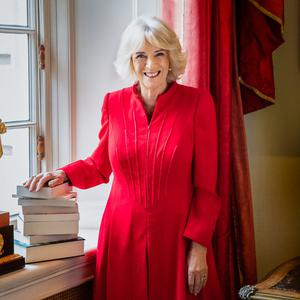A new portrait of the Duchess of Cornwall has been released to mark her new literary project. Hugo Burnand